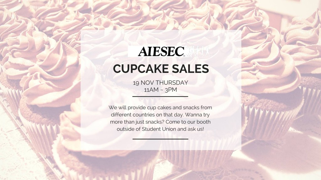 Try out our cupcake!!