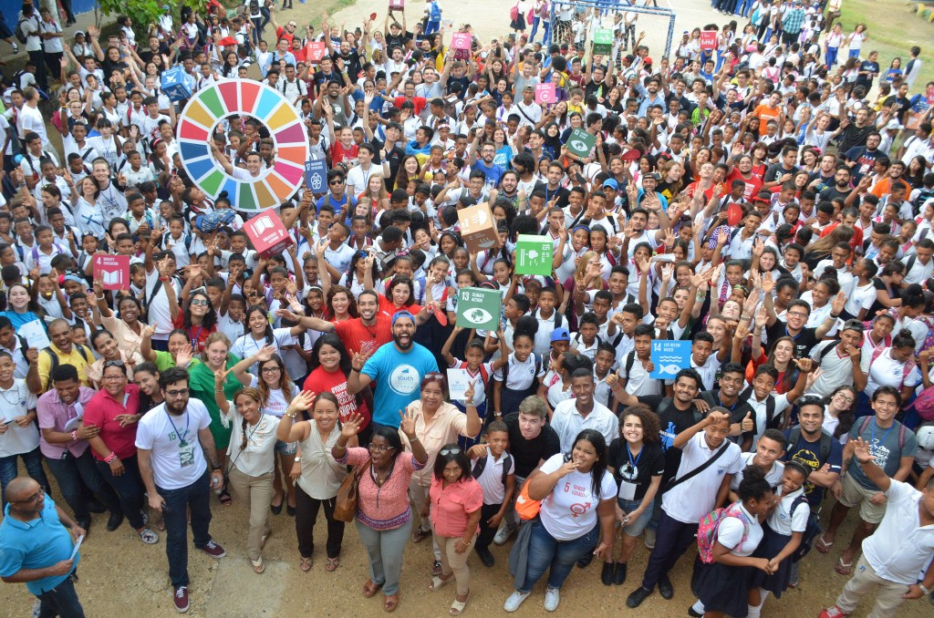 aiesec sdg world largest lesson